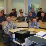 Выпускники курса слесарей-сборщиков в Таллинне